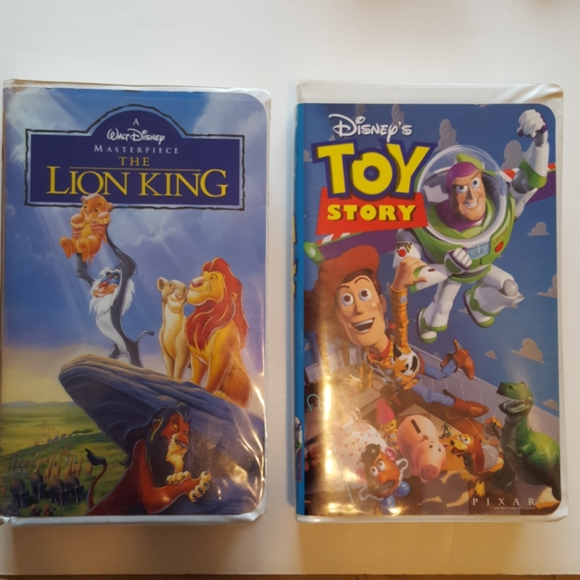 2 VCR tapes